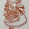 花かごを持つ女の子-Ⅱ