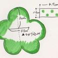 花形のネームホルダー(2-2)